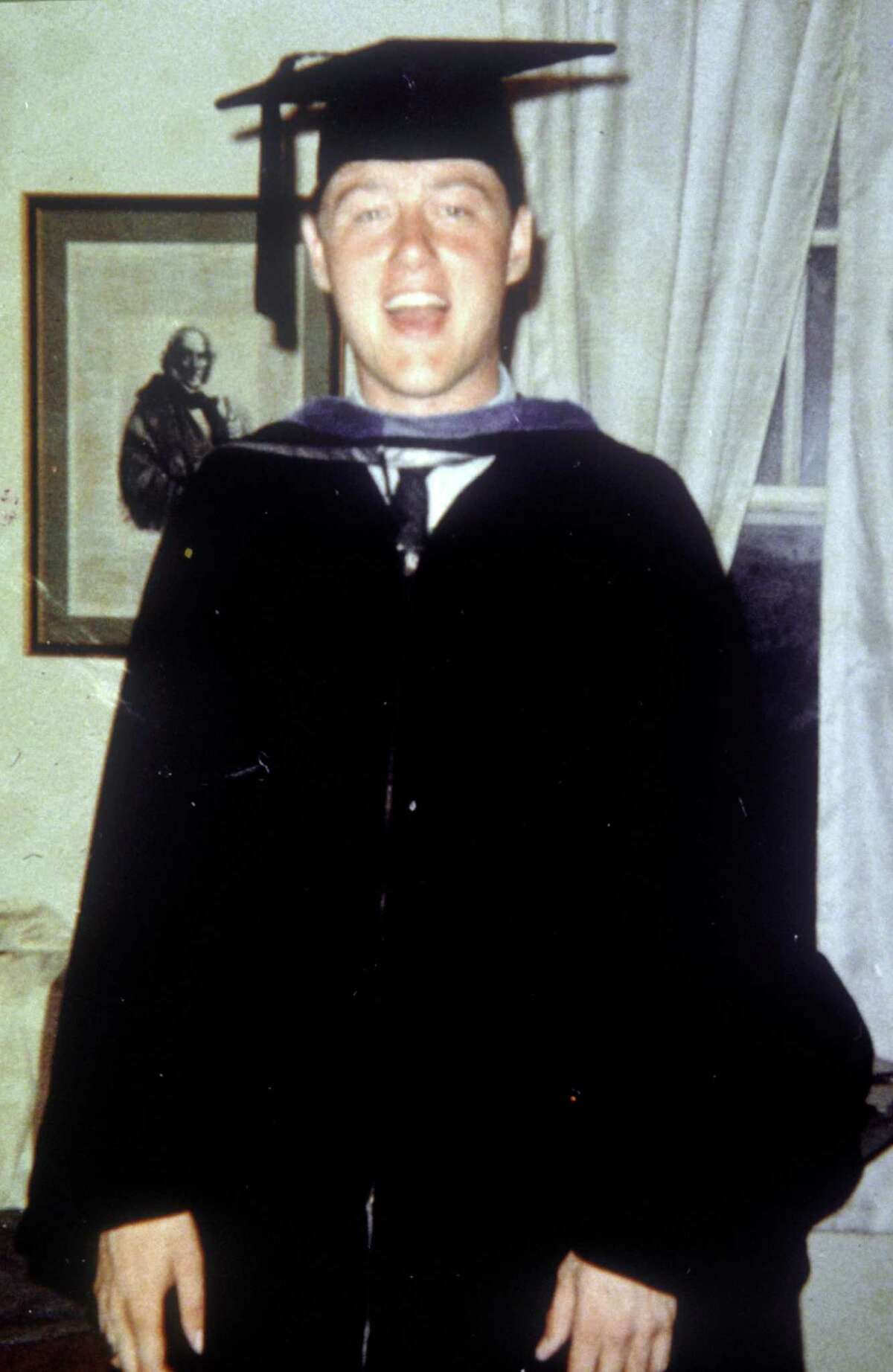 Bill Clinton during his younger years.