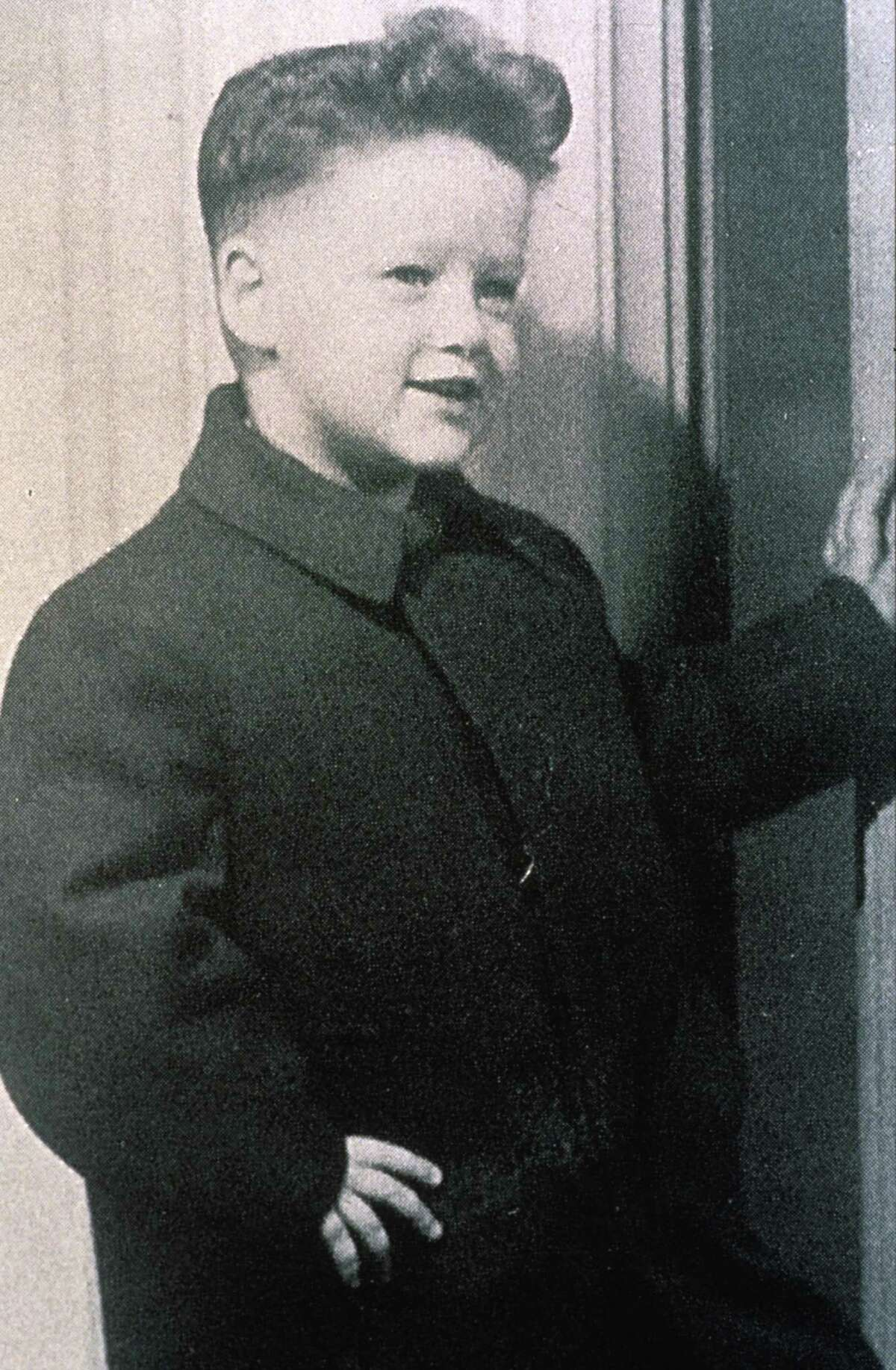Bill Clinton in his younger years.
