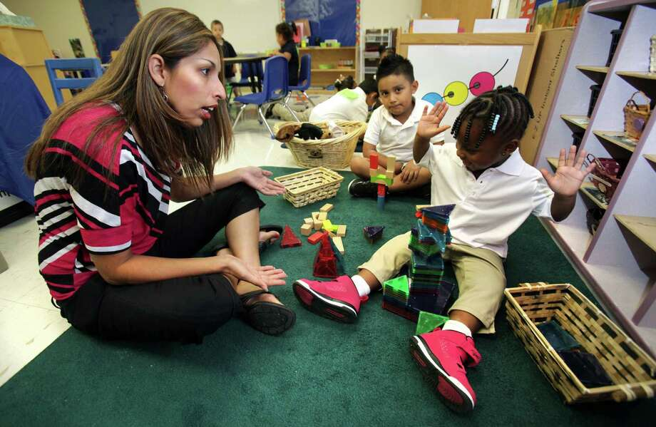 Saying that the best pre-K program is the one conducted at home by concerned parents, a reader says she has some questions about the plan proposed by the city. Photo: Bob Owen, San Antonio Express-News / © 2012 San Antonio Express-News
