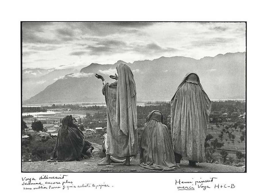 This image taken in India is among the signed Henri Cartier- Bresson prints up for auction by Christie's. Photo: Henri Cartier Bresson, Associated Press