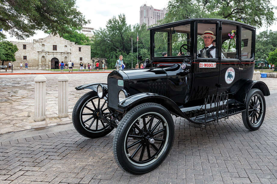 Henry Ford knew that when workers made good wages they could afford to buy Model Ts, such as this 1920 version owned by George Wilson. Photo: MARVIN PFEIFFER, Marvin Pfeiffer/ Express-News / San Antonio Express-News 2012