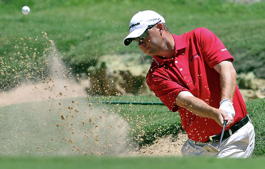 Cameron Beckman, having missed 11 cuts in 22 events this season, does not hold full-time status on the PGA Tour for 2013. Photo: Tom Reel, San Antonio Express-News / San Antonio Express-News