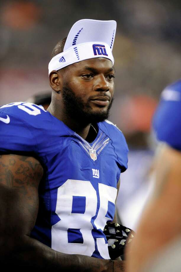 Tight end Martellus Bennett signed with the Giants in March after four subpar seasons with the Cowboys. Photo: Bill Kostroun, Associated Press / FR59151 AP