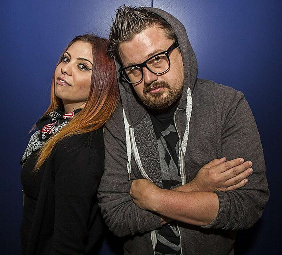 "Megan Holiday and Menace have the right chemistry as cohosts of Live 105's morning show. ""It's cool,"" Menace says. Photo: Live 105"