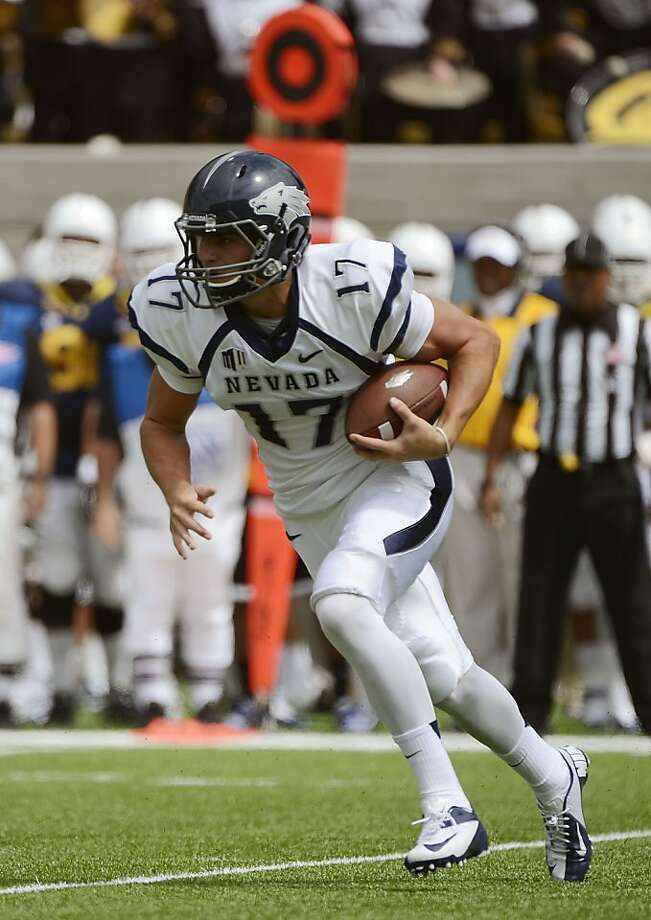 Nevada's Cody Fajardo completed 78 percent of his passes and ran for a score. Photo: Thearon W. Henderson, Getty Images