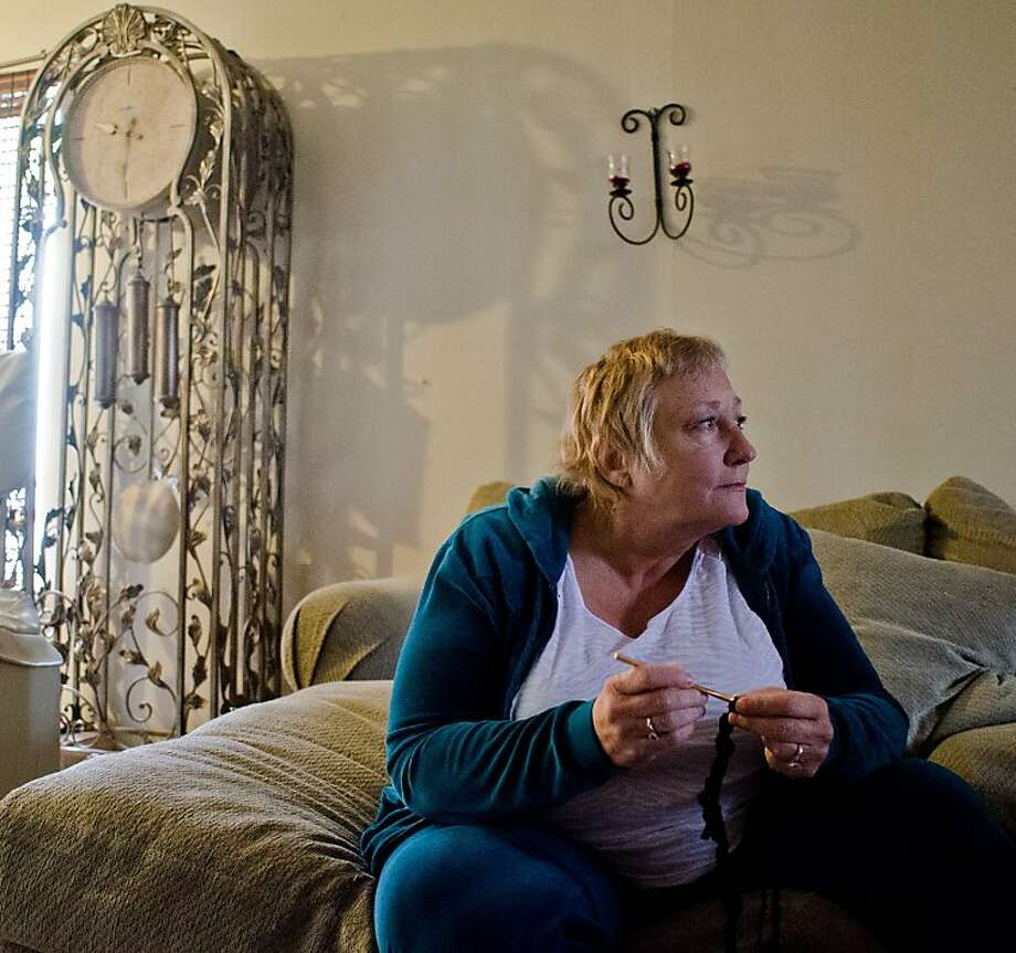 After being diagnosed with multiple myeloma, Caethe Goetz had to pay 20 percent of the cost of the drug, which was $7,000 per month, before qualifying for coverage under the Veterans Adminis- tration. Photo: Alvin Jornada, Special To The Chronicle