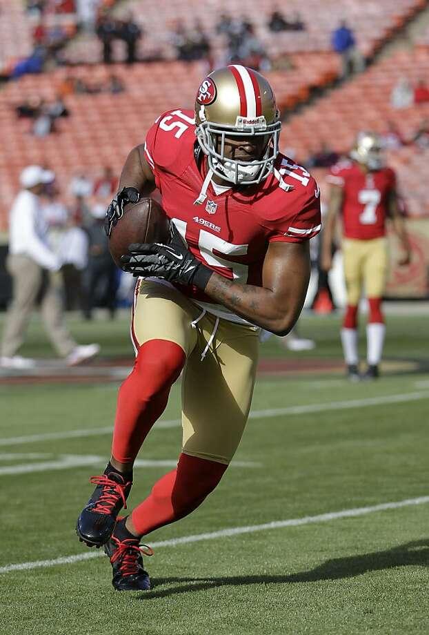 Michael Crabtree is entering his fourth NFL season. Photo: Paul Sakuma, Associated Press