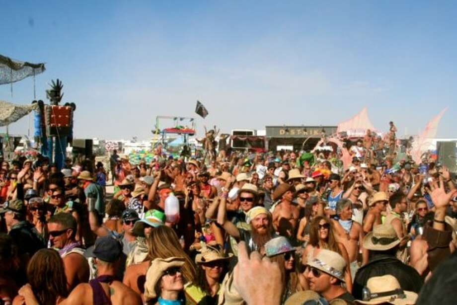 You want the most hardcore daytime dance party on the playa? You want to shake your ass like a madman in dusty, 100-degree heat to some of the most badass DJs around, alongside about 500 of your closest, sweatiest, dirtiest, most deliciously crazy friends? Then you go to the day parties at Distrikt.