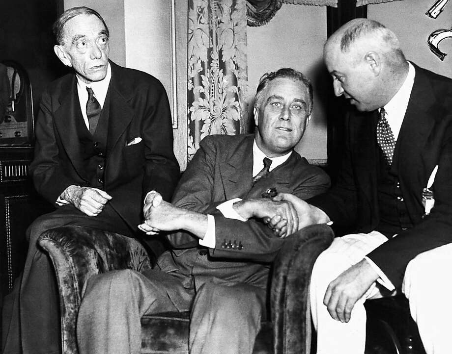 Franklin D. Roosevelt Photo: Associated Press