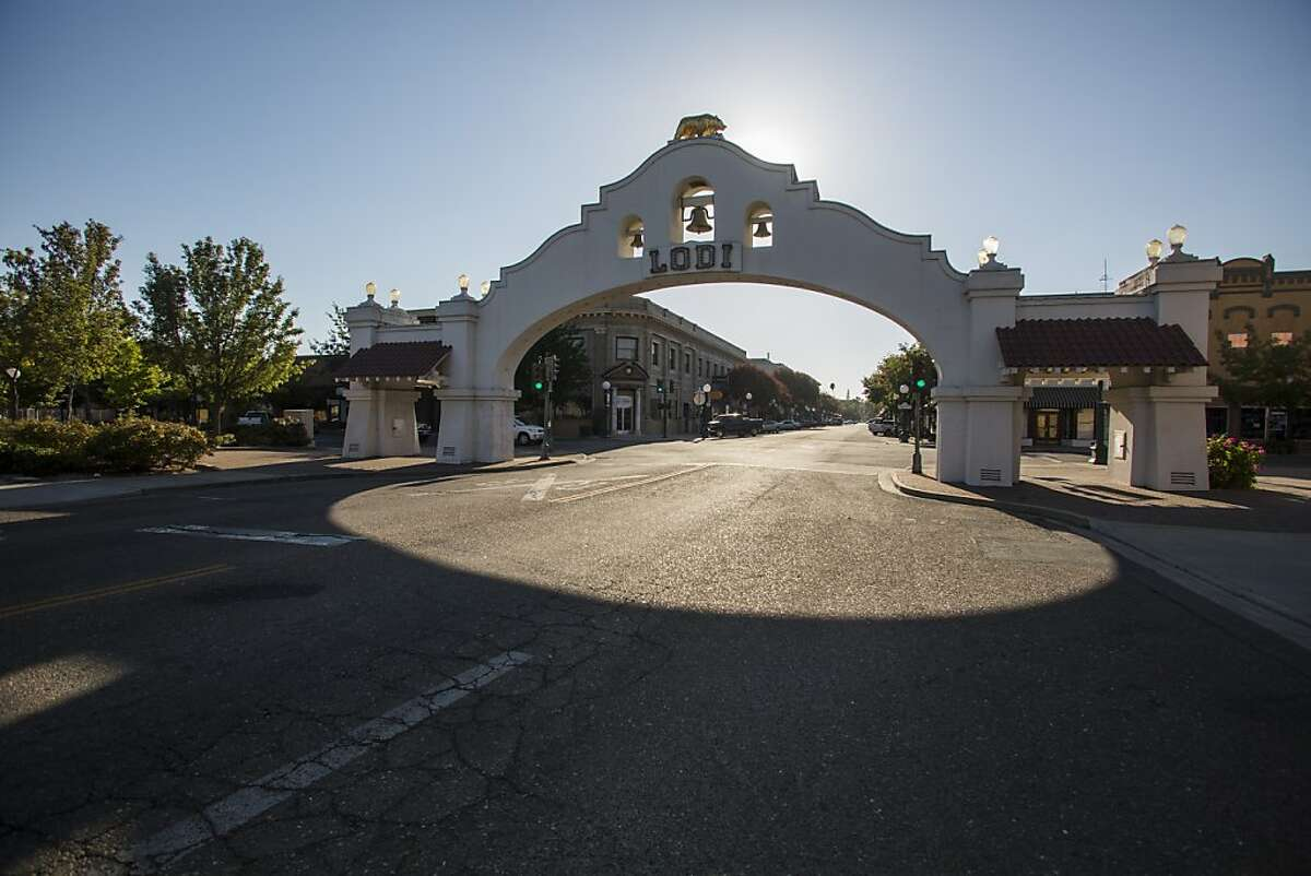 Lodi Arch, in Lodi, California, in Lodi, California, on Saturday 1st 2012 By Ken James/SPECIAL TO THE CHRONICLE