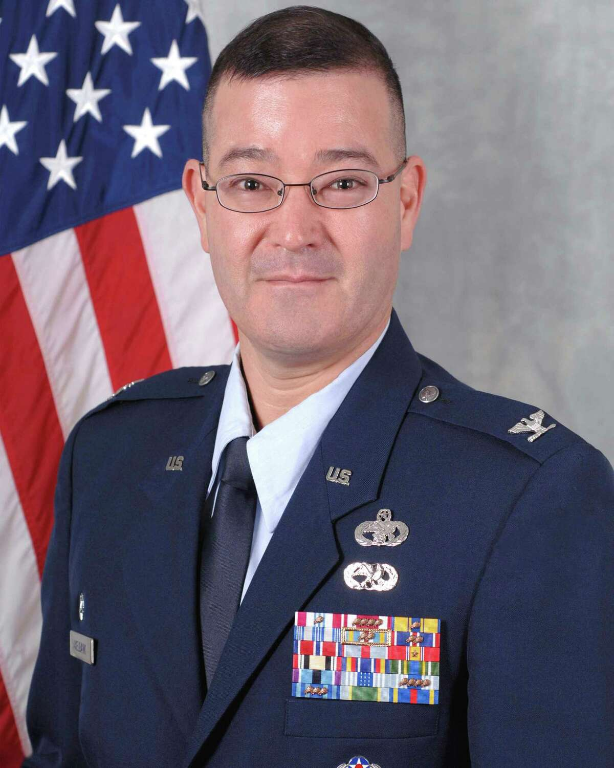 Col. Eric Axelbank, seen in an undated USAF courtesy photo accessed Tuesday Sept. 4, 2012, is a 1990 distinguished graduate of the Air Force ROTC program and a 2003 distinguished graduate of the Air Command and Staff College, according to his published bio. A career Logistics Readiness Officer, he has served in a broad range of logistics readiness, aircraft maintenance and personnel assignments at the joint, headquarters Air Force, center and wing levels. The 37th Training Wing is Colonel Axelbank's fourth command position, having commanded three times prior within the U.S. Air Forces in Europe and the Pacific Air Forces theaters. Before arriving at Lackland Air Force Base, Texas, Colonel Axelbank served as the Vice Commander, 65th Air Base Wing, Lajes Field, Azores, Portugal.