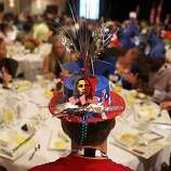 Ramsey McLauchlan, of St. Petersburg, foreground, has breakfast with delegates from Pinellas County at the Florida delegation breakfast at the Marriott City Center in downtown Charlotte, North Carolina, Tuesday, September 4, 2012. (Kathleen Flynn/Tampa Bay Times/MCT)   ** BRADENTON OUT **