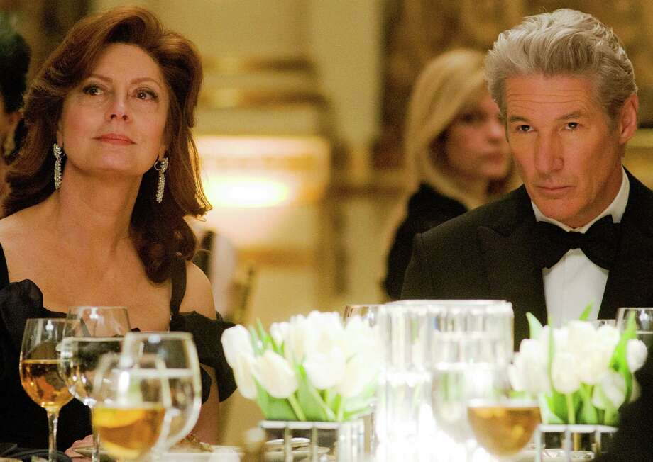 "Susan Sarandon and Richard Gere star as a high-powered couple in ""Arbitrage."" Photo: Roadside Attractions"