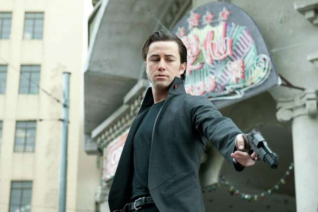 "This film image released by Sony Pictures shows Joseph Gordon-Levitt in a scene from the action thriller ""Looper."" (AP Photo/Sony Pictures Entertainment) Photo: Sony Pictures Entertainment"