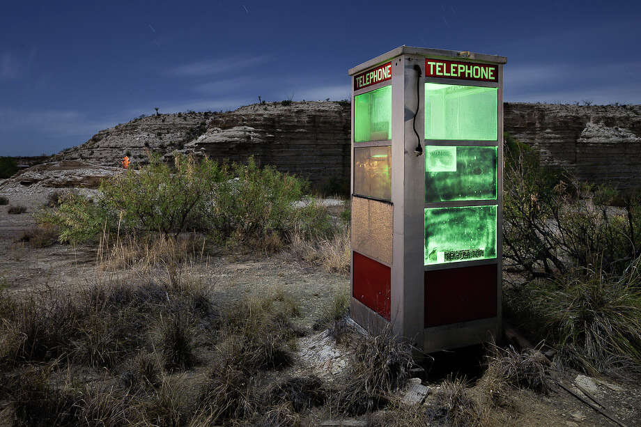"""Portal"" was shot in the dead of night near Big Bend after an unexpected meeting with the  Border Patrol agents. Photo: Courtesy, Scott Martin"