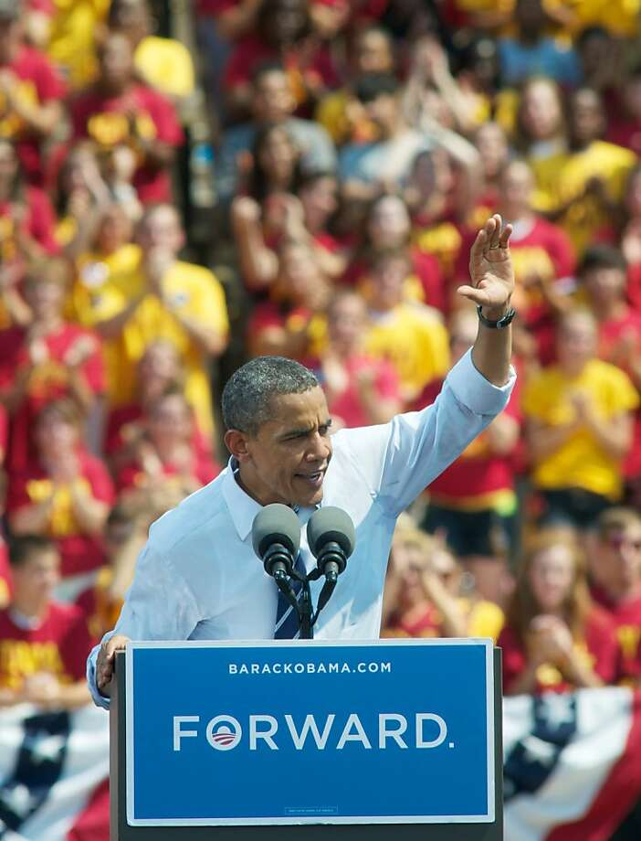 President Obama hopes to again win two-thirds of the youth vote. Photo: David Greedy, Getty Images
