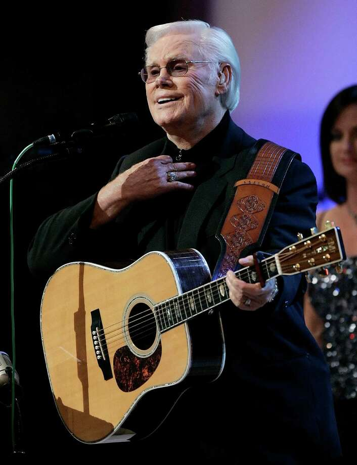 ** FILE ** In this Sept. 12, 2006 file photo, country music star George Jones is seen in Nashville, Tenn. Jones will be honored at the Kennedy Center Honors, it was announced on Tuesday Sept. 9, 2008. (AP Photo/Mark Humphrey, File) Photo: MARK HUMPHREY / AP
