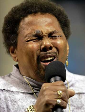 Grammy recipient  Aaron Neville and his band will present a Christmas concert on Dec. 6. Photo: File Photo, Associated Press / AP