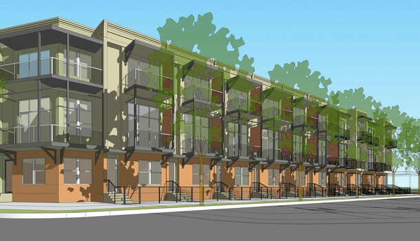 Single Family Townhomes Being Built Near Pearl San Antonio Express News