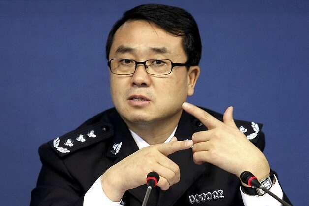 Wang Lijun, once an ally of ousted official Bo Xilai, accused Bo's wife of murder. Photo: Uncredited, Associated Press