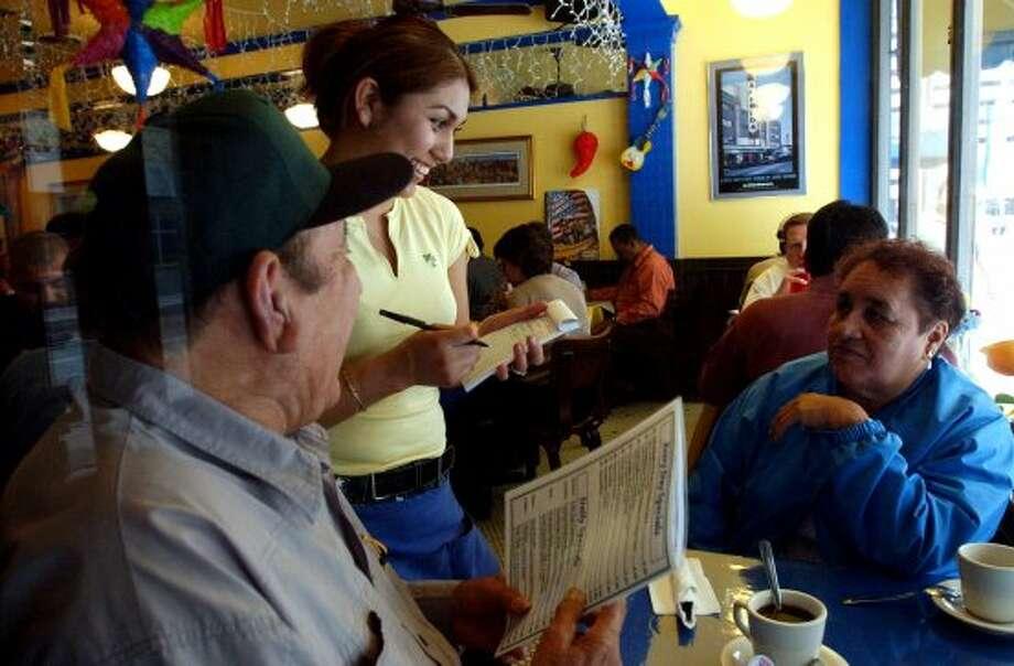 Blanco Café: 419 N. St. Mary's St., 210-271-3300; $6.99 bowl, add .30 for to-go orders7934 Fredericksburg Road, 210-692-3233; $6.99 bowl, add .30 for to-go orders (Gloria Ferniz / San Antonio Express-News file photo)