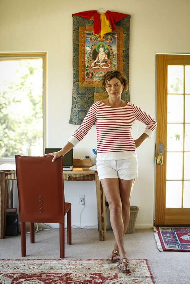 Carré Otis, at home in Sebastopol. Photo: Russell Yip, The Chronicle