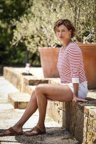Model Carre Otis is seen at her Sebastopol, Calif., home on Thursday, July 5, 2012. Photo: Russell Yip, The Chronicle