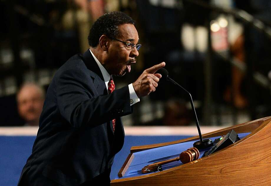 CHARLOTTE, NC - SEPTEMBER 05:  Chair of the Congressional Black Caucus, U.S. Rep. Emanuel Cleaver, II (D-MO) speaks during day two of the Democratic National Convention at Time Warner Cable Arena on September 5, 2012 in Charlotte, North Carolina. The DNC that will run through September 7, will nominate U.S. President Barack Obama as the Democratic presidential candidate.  (Photo by Kevork Djansezian/Getty Images) Photo: Kevork Djansezian, Getty Images