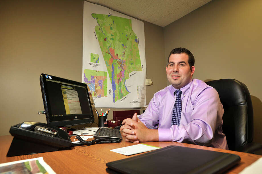 Luigi Fulinello is the town of New Milford's new economic development supervisor. Photographed on Wednesday, Sept. 5, 2012. Photo: Jason Rearick / The News-Times