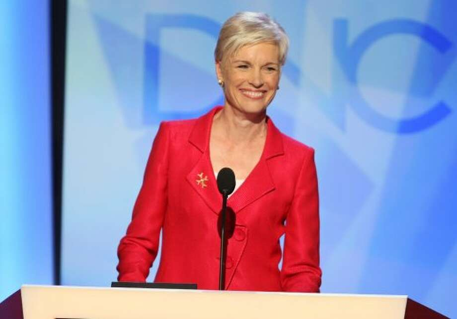 Cecile Richards, President of the Planned Parenthood Federation of America, addresses the Democratic National Convention in Denver, Colorado, Sunday August 24, 2008. (Brian Baer/Sacramento Bee/MCT) (Brian Baer / Sacramento Bee)