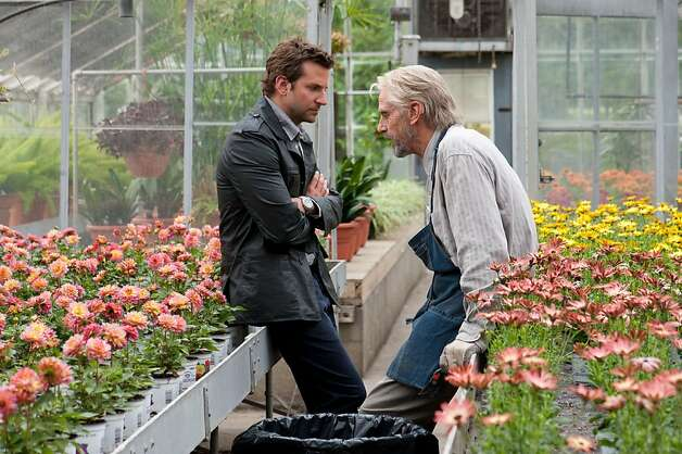 "Bradley Cooper (left) and the Old Man, played by Jeremy Irons, add some fun to ""The Words."" Photo: Jonathan Wenk, CBS Films"