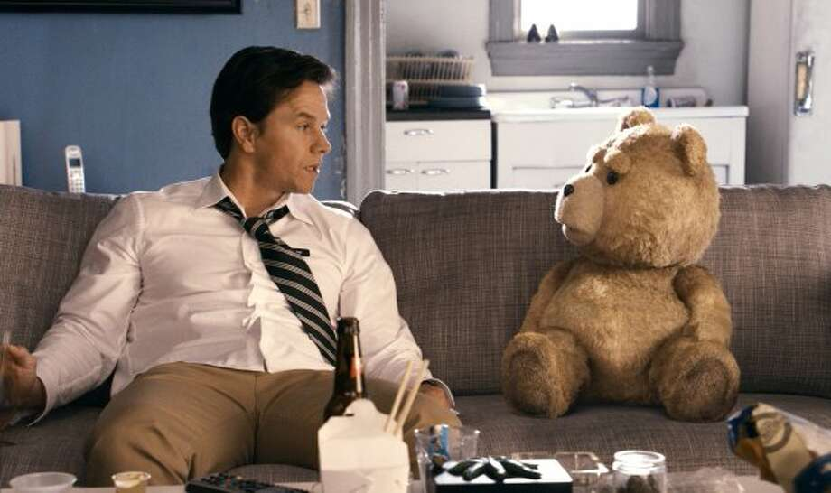 "WINNER, ""Ted""Summer's biggest surprise was that an F bomb-dropping teddy bear would do almost as well as the latest Pixar offering. Its $215 million take was more than four times what it cost to make. Obviously, audiences were hungry for a raucous comedy, a genre in short supply. Maybe it was the ""Thunder Song"" that did it. (Tippett Studi / Universal Pictures)"