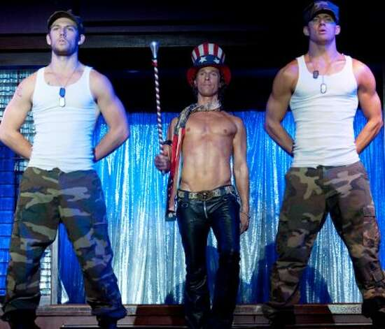 "WINNER, ""Magic Mike"" The second-biggest surprise was that a movie about male strippers would find an audience. A mostly female audience, to be sure — the line I saw waiting to see it had nary a guy in sight — but $113 million is a lot of dollar bills stuffed into a lot of G-strings. Particularly since it was made for a paltry $7 million. This one, from Warner Bros., partially made up for the studio's underperformers (""Rock of Ages,"" ""The Campaign,"" ""Dark Shadows,"" ""The Apparition""). (Warner Bros. Pictures)"