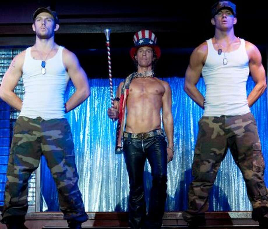 """WINNER, """"Magic Mike""""The second-biggest surprise was that a movie about male strippers would find an audience. A mostly female audience, to be sure — the line I saw waiting to see it had nary a guy in sight — but $113 million is a lot of dollar bills stuffed into a lot of G-strings. Particularly since it was made for a paltry $7 million. This one, from Warner Bros., partially made up for the studio's underperformers (""""Rock of Ages,"""" """"The Campaign,"""" """"Dark Shadows,"""" """"The Apparition""""). (Warner Bros. Pictures)"""