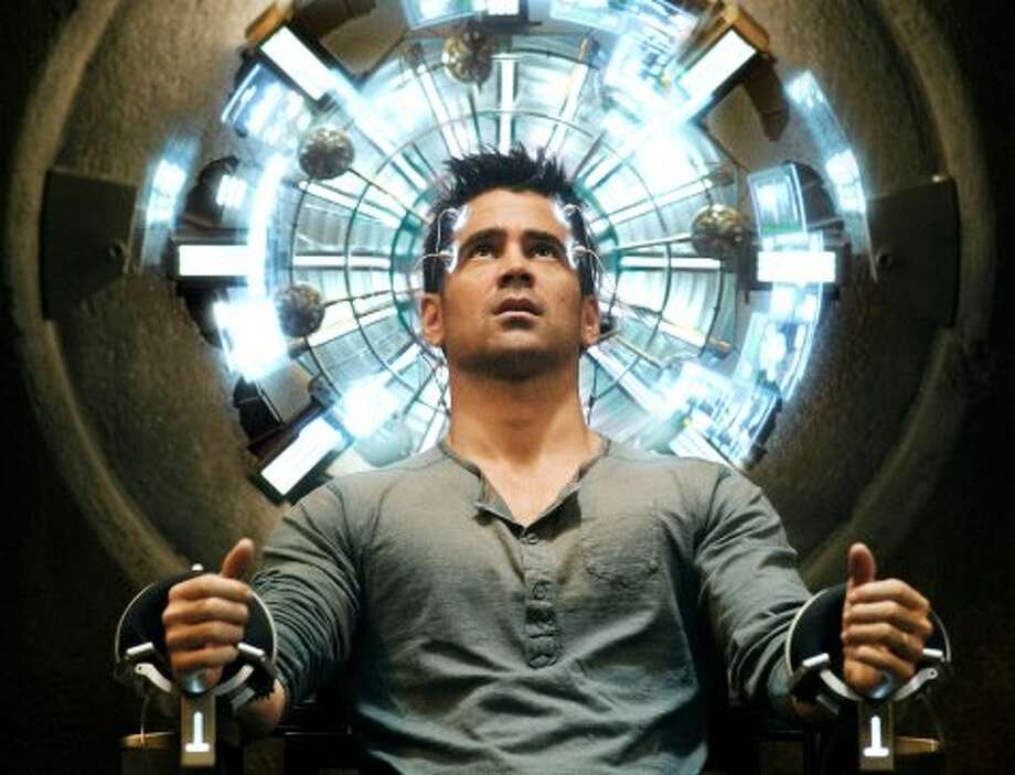 """LOSER, """"Total Recall""""Remake/reboot of the 1990 mind-bending adventure earned a paltry $57 million, or less than half its $125 million budget. Opening Aug. 3, smack-dab in the middle of the Olympics, didn't help. (Michael Gibson / Columbia Pictures)"""