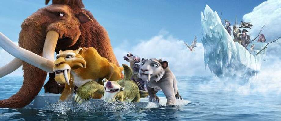 TOP 108. Ice Age: Continental DriftAnother surprise to the Top 10, the latest installment of the frozen threesome grossed $156 million. (Blue Sky Studios / 20th Century Fox)