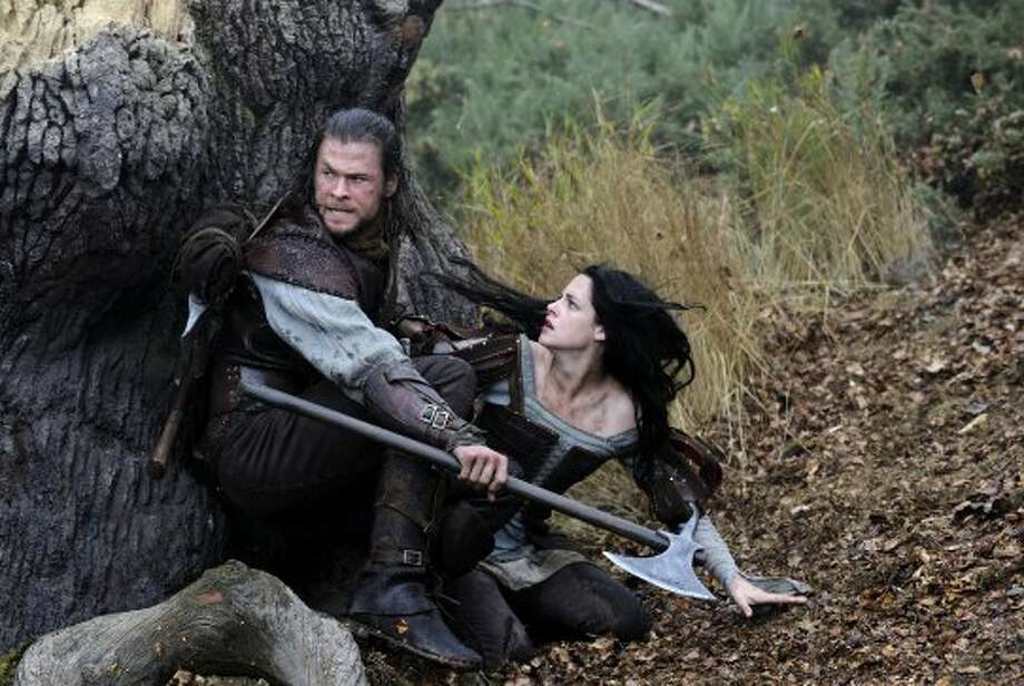TOP 109. Snow White and the HuntsmanThanks to a Twilight star, the latest spin on the fairy tale cracked the Top 10, making $155 million. (Alex Bailey / Universal Pictures)