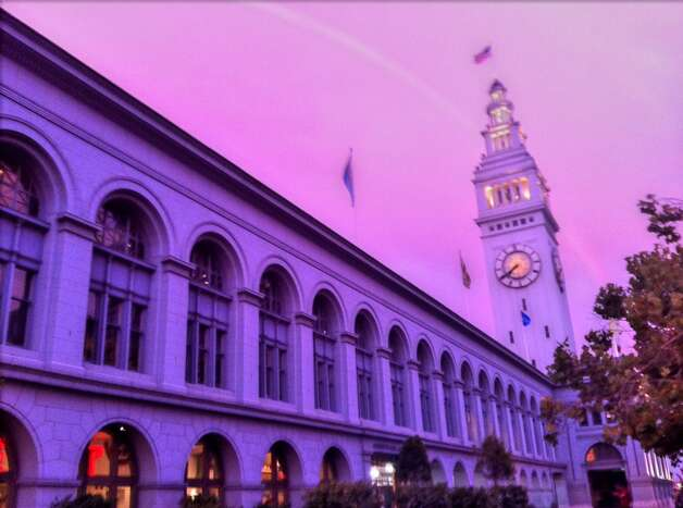 Rainbow over the Ferry Building in San Francisco. Photo: Courtesy Of Missy Buchanan