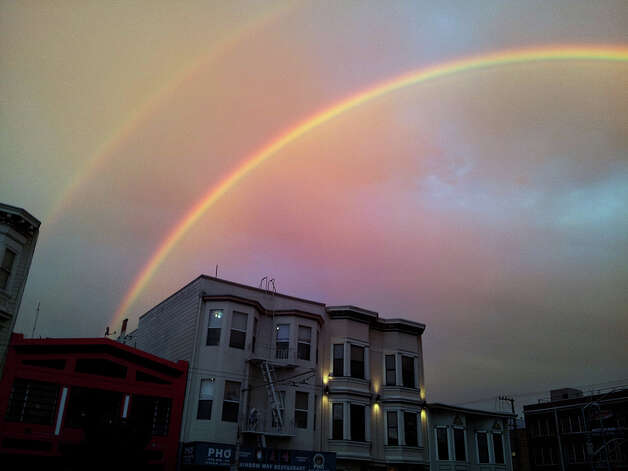Double rainbow above rainbow way. Courtesy npzo on Flickr Photo: Courtesy Npzo On Flickr