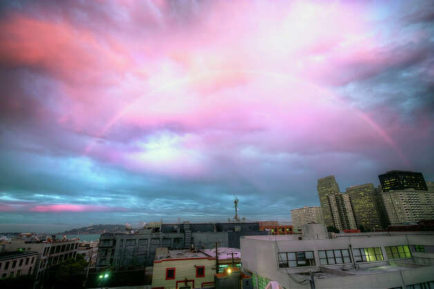 Rainbow over San Francisco. Photo: Courtesy Jimmy Zhen Wu