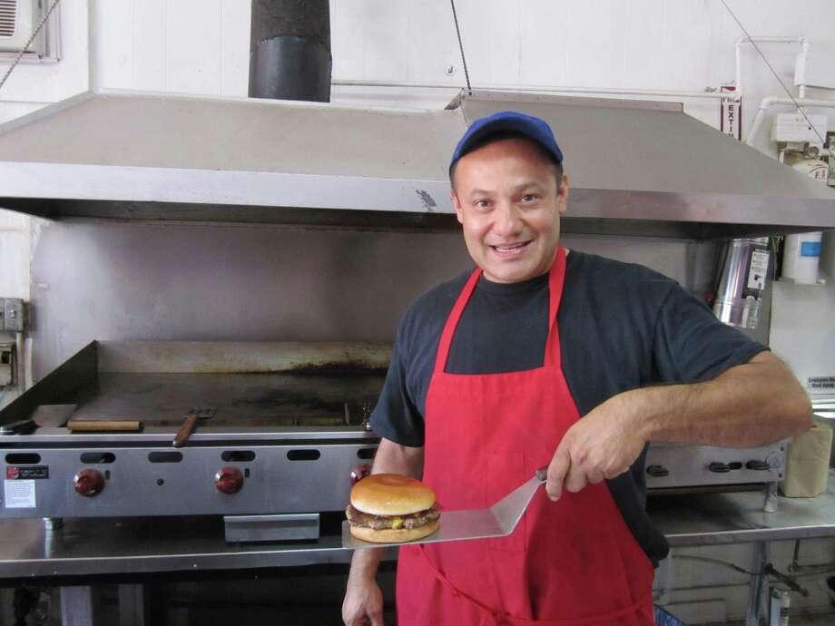Danny Uranga of Danny Boy's Hamburgers.