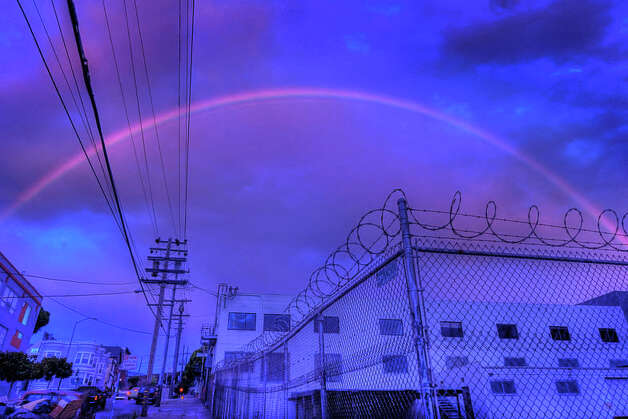 Rainbow over the Mission in San Francisco. Flickr / Jon Bauer Photo: Courtesy Jon Bauer