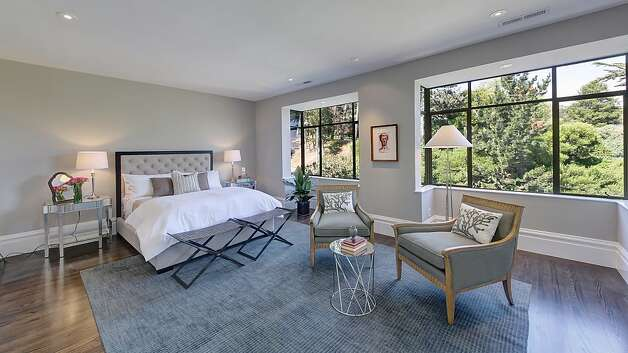 Large windows in the master suite let in plenty of natural light. Photo: Dan Friedman