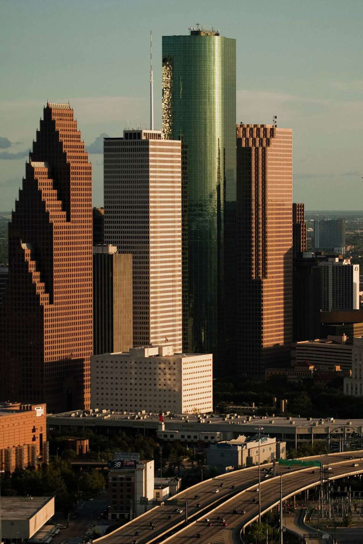 Houston's skyline will be a bit more cluttered in a few years with more than a dozen high-rise building under construction, both commercial and residential. There's so much construction that Emporis ranked the city seventh among North American Cities with Most Number of Highrise Developments last year. See which developments are happening right now in our gallery.(h/t SkyscraperPage.com)
