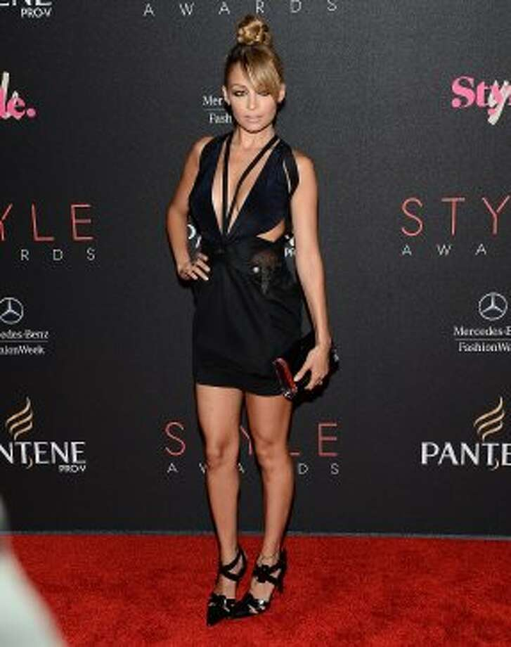 Nicole Richie arrives at the 9th Annual Style Awards during Mercedes-Benz Fashion Week Spring 2013 at the Stage in Lincoln Center on September 5, 2012 in New York, New York.   (Michael Buckner / Getty Images for Mercedes-Benz)