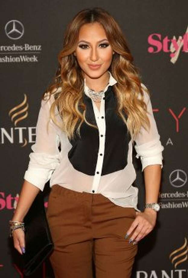 Adrienne Bailon attends the 9th annual Style Awards during Mercedes-Benz Fashion Week at The Stage at Lincoln Center on September 5, 2012 in New York City.   (Astrid Stawiarz / Getty Images for Mercedes-Benz Fashion Week)