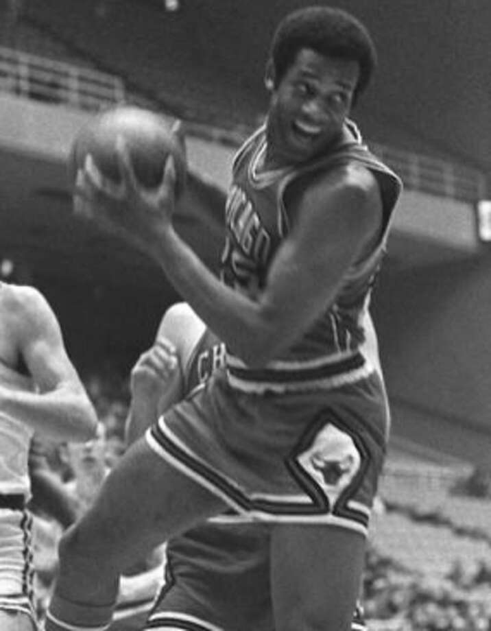 CHET WALKER -- Walker, out of Bradley, was on the All-Rookie team  and was a seven-time All Star. He started at small forward on the  1966-67 NBA champion Philadelphia 76ers, which many consider to be, for  one season, the greatest team in NBA history. (Photo: Houston Chronicle)