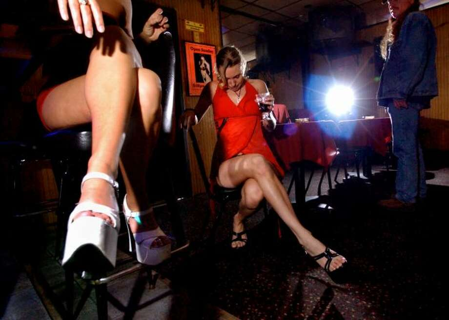 Dancers at an Albany, N.Y., strip club claim they – as artists – are being unfairly taxed. If ballerinas get a break, the argument goes, so should pole dancers. The club is pictured above in a 2003 file photo. For a look back at artistic controversy in Seattle and around the world, check out this gallery. (Times Union archive.) Photo: -