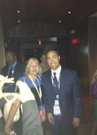 Is that keynote speaker San Antonio mayor Julian Castro? No it's his twin brother Joaquin rocking the Third Way party at 1.30 am, Thursday morning at the Democratic Convention, N.C September 6. Photo: Joe Garofoli, San Francisco Chronicle