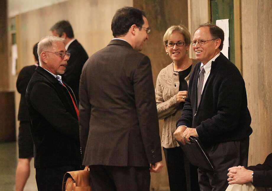 Stephen Herman pleaded guilty to misusing col-lege funds. Photo: Lea Suzuki, The Chronicle